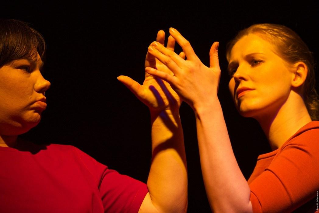 Спектакль «Отдаленная близость» интегрированного театра «КРУГ II». Фото Леонида Селеменева