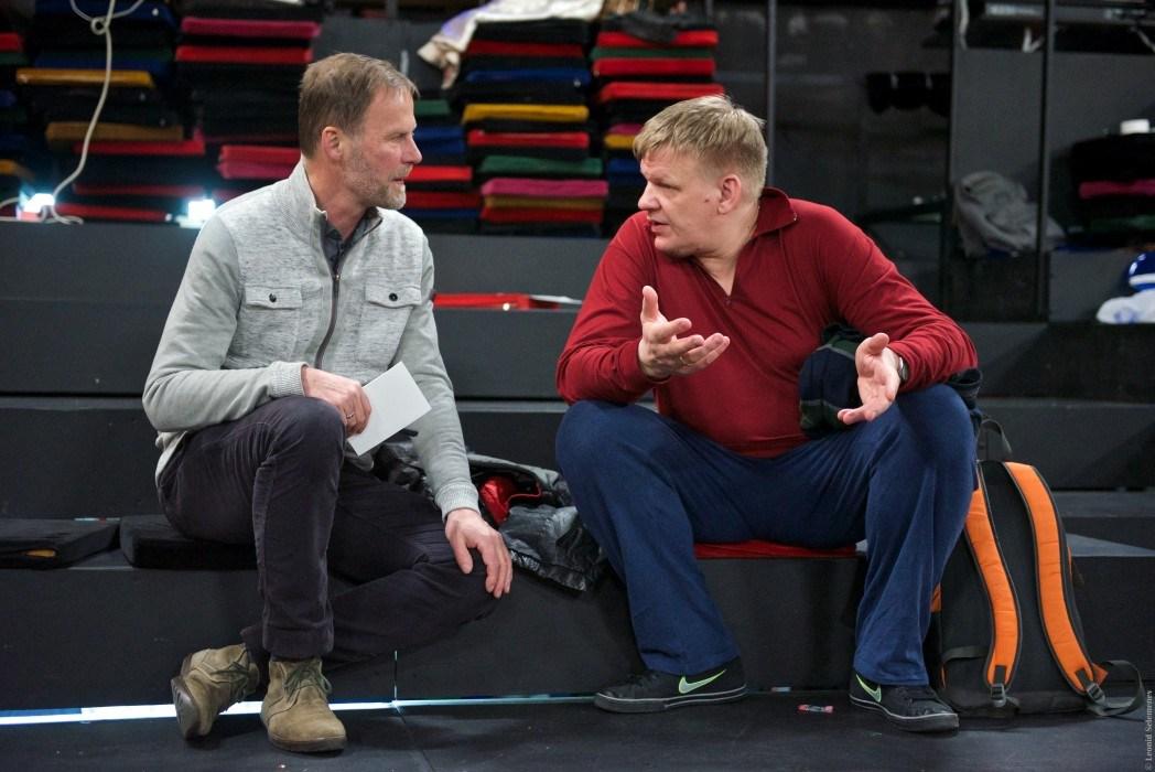 Андрей Афонин (справа). Фото Леонида Селеменева